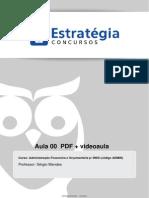 Aula 00 - Orçamento Na Constituição Federal - PPA, LDO e LOA