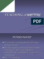 Teaching of Writing - TESL