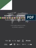 Alianza para el Gobierno Abierto (México) - Plan de Acción 2013-2015