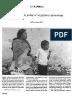 Acosta Diaz - Familias Mas Pobres Con Jefaturas Femeninas