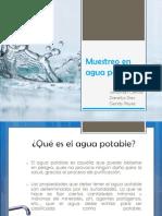 Muestreo en Agua Potable