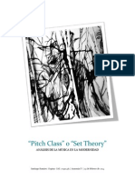 Pitch Class o Set Theory