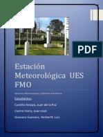 Estación Meteorológica UES FMO