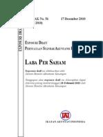 ED PSAK 56 (R10) Laba Per Saham