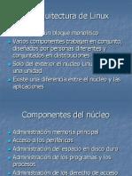 Caracteristicas y Arquitectura de Linux-2
