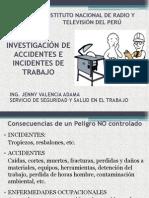 Accidentes e Incidentes de Trabajo