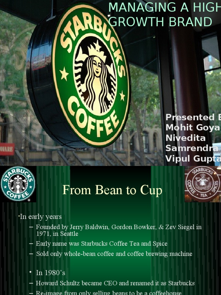 case study starbucks coffee to go Batchelor, b & krister, k (2012) starbucks: a case study examining power and culture via radical sociodrama prism 9(2):  .