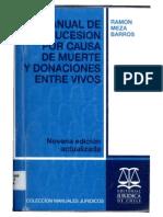 Meza Barros, R. - Manual de La Sucesion Por Causa de Muerte Pag 21