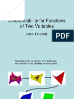 DifferentiAbility of several variables