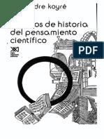Koyre, Estudios de Historia Del Pensamiento Científico