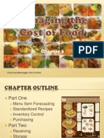 Chapter 3 - Managing the Cost of Food