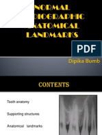 normalradiographic anatomy
