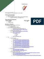 Google Sketchup Design Brief
