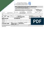 Formulario de Diploma