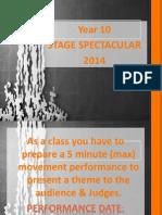 stage extravaganza 2014 presentation