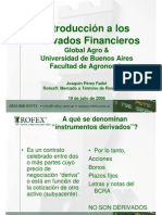 Intro Derivados Financieros