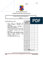 Trial Exam 2014 Seri Perpatih