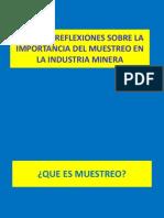 Muestreo de Minerales - Pedro Carrasco