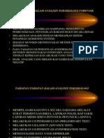 Beberapa Trik Dalam Analisis Toksikologi Forensik