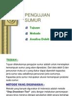 4. PENGUJIAN SUMUR