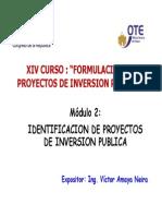 Modulo 2 Identificacion de Proyectos Victor Amaya