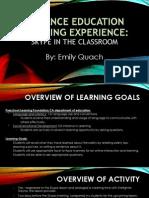 emily quach de learning experience