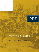 Niraja Gopal Jayal - Citizenship and Its Discontents. an Indian History [2013][a]