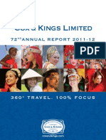 Annual Report 2012 cox and kings