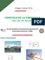 Cinetica Particula 1d 2d 2da Ley Newton