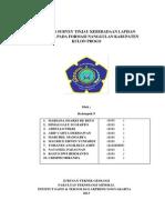 Laporan Survey Tinjau Keberadaan Lapisan Batubara Pada Formasi Nanggulan Kabupaten Kulon Progo