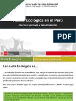Huella Ecologia en El Peru-calculo Nacional y Departamental