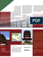 Hubei Brochure Design