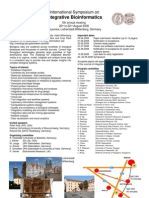 International Symposium on Integrative Bioinformatics