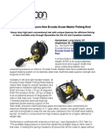 Eposeidon Introduces New Ecooda Ocean Master Fishing Reel