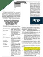 Decreto Legislativo Nº 940