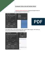 Cara Penggunaan Tool Proxy