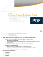 Arundel Partners - Intro & Questions & Solutions