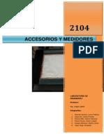 Accesorios y Medidores