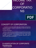 Income Tax of Corporations Chapter 12