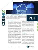 Ensuring PCI DSS Compliance in the Cloud