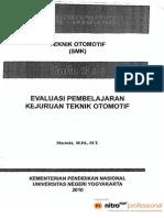Ppm Evaluasi Pembelajaran Kejuruan Otomotif Makalah Plpg