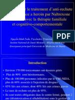 Recherche sur le traitement d'anti-rechute de dépendance a heroin par Naltrexone