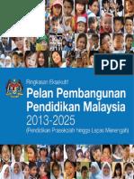 Pelan Pembangunan Pendidikan Malaysia 2013-2025 B