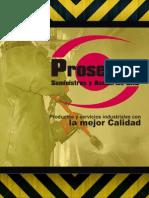 Brochure Prosegind, Suministro y Asesorias s.a.s.