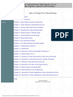Cooling Tower Thermal Design Manual