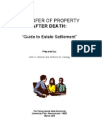 Transfer of Property After Death