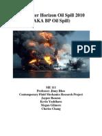 BP Oil Spill 2010 Draft