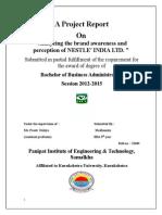Summer Training Report Madhumita 12049
