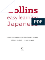 Collin's Japanese Easy Learning