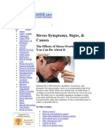 T4 Stress Symptoms, Signs, & Causes